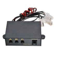 цена на 12V 6 Ways LED Strobe Light 3 Flashing Modes Controller Flash Light Lamp Emergency Flashing Controller Box For Car Motorcycle