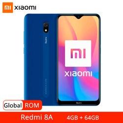 Глобальная прошивка Xiaomi Redmi 8A 8 4 Гб 64 Гб мобильный телефон Snapdragon 439 Octa Core 6,22 дюймдисплей 5000 мА/ч, 12MP задняя камера смартфона
