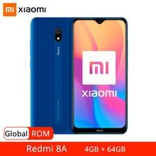 Rom global xiaomi redmi 8a 8 a 4gb 64gb telefone móvel snapdragon 439 octa núcleo 6.22