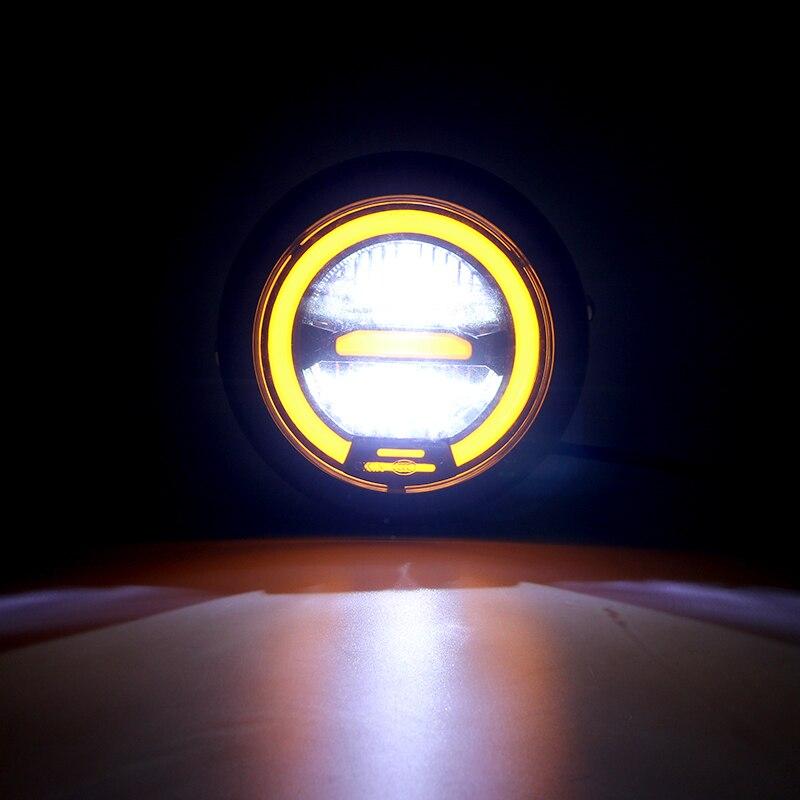 oi lo feixe motocicleta led head light 05
