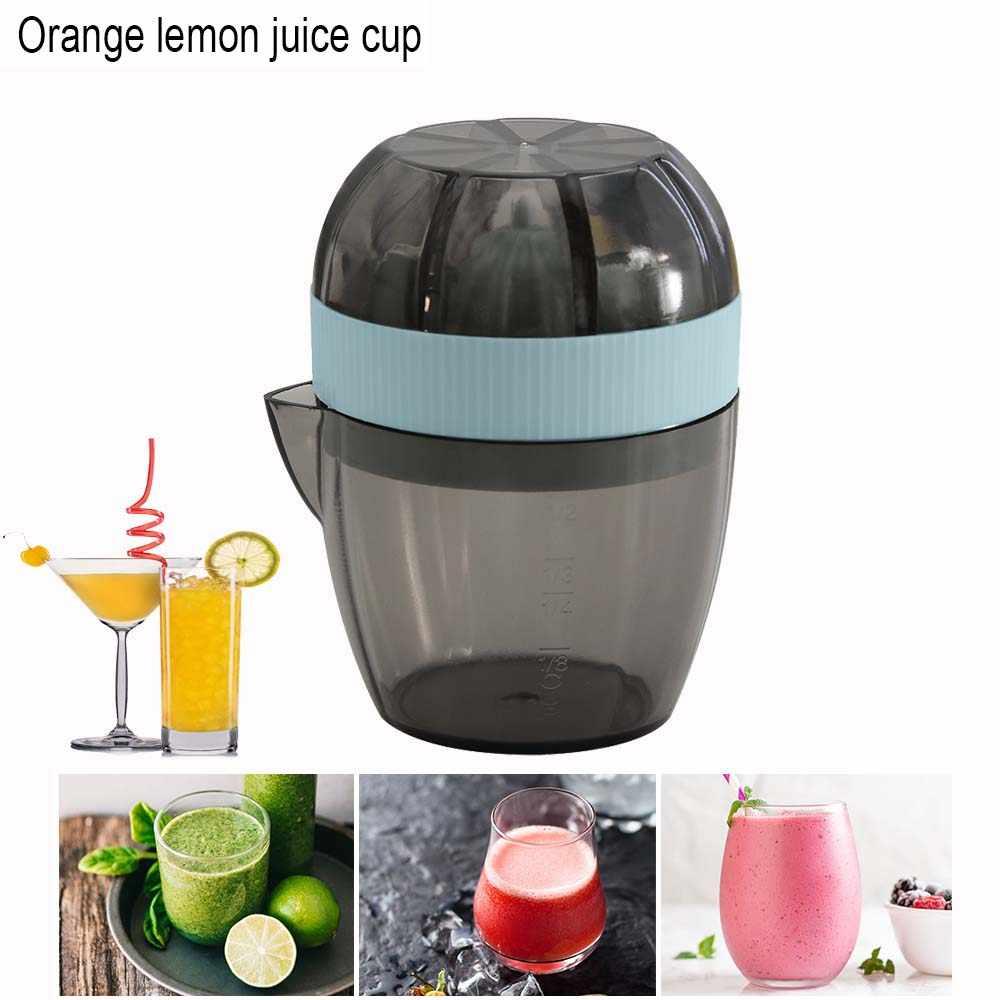 Tragbare Orange Entsafter Manuelle Citrus Entsafter Zitrone Orange Saft Tasse Mandarine Saft Squeezer Gesunde Leben Trinkwasser Entsafter Maschine