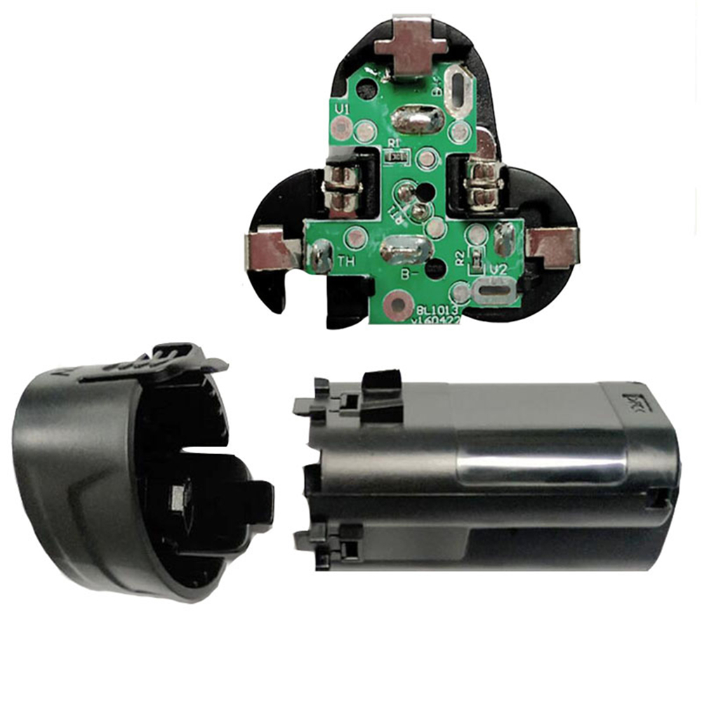PCB Circuit Board & Battery Plastic Case Shell Housing for MAKITA 194550-6 194551-4 BL1013 BL1014 10.8V 12V Li-ion Battery Parts