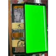 Punkty linii AMOLED ekran do Samsung Galaxy Note 9 N960U N960F uwaga 8 N950N N950F LCD uwaga 9 wyświetlacz ekran dotykowy Digitizer