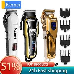 Image 1 - Kemei Trimmer Professional Hair ClipperตัดTrimmerผมตัดผมไฟฟ้าผมช่างทำผมเครื่องมือ5