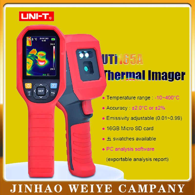 UNI-T UTi165A Инфракрасный Тепловизор высокоточная тепловизионная камера для обнаружения пола