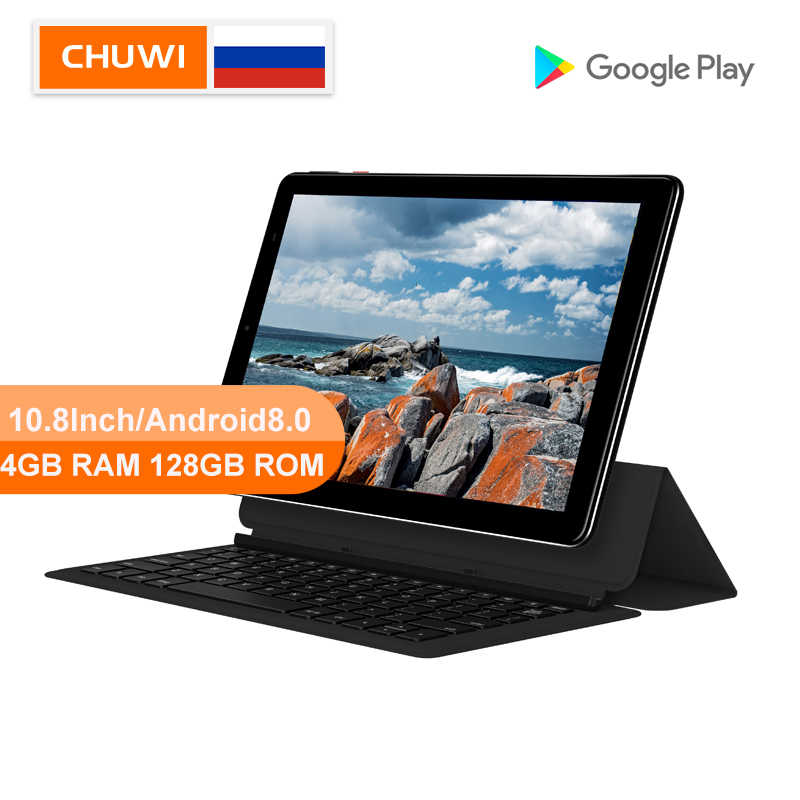 CHUWI Asli Hi9 PLUS Tablet PC MediaTek Helio X27 Deca Core 2K Layar 10.8 Inch 4GB RAM 128GB ROM Android 8.0 Dual Tablet