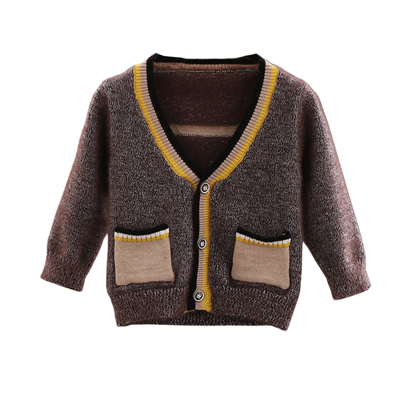 Kids Baby Boys Cardigan Autumn Coat Boys Mohair Sweaters Cotton Baby Boys Casual Jacket Sweaters Knit Children's Clothing