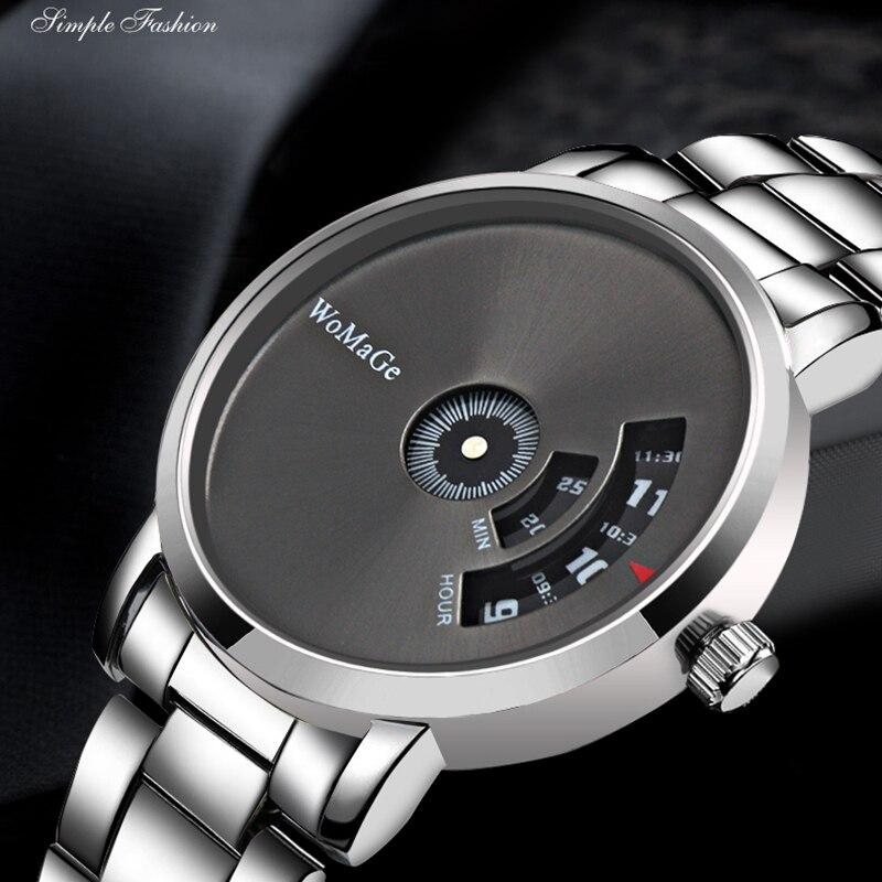 WoMaGe 2019 New Hot Sell Brand Wrist Watch Luxury Unique Style Men Quartz Watches Fashion Designer Male Watch Montre Homme