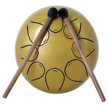 5-дюймовый мини-Сталь язык барабан с 8 Примечания Профессиональный ударный воспроизвести, забыть ваши заботы инструмент