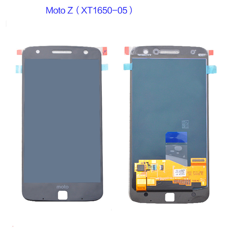 OLED For Motorola Moto Z <font><b>xt1650</b></font> touch screen For moto Z <font><b>XT1650</b></font>-05 Display <font><b>XT1650</b></font>-01 03 05 <font><b>LCD</b></font> Screen Touch Digitizer replacement image
