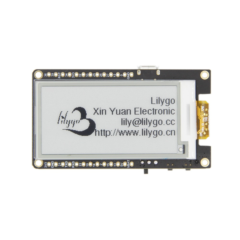 ESP 32 TTGO T5 V2.0 2.13 Inch E-Paper Screen New Driver Chip ESP32