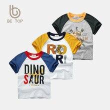 цены Summer Children 's Cotton Short-Sleeved Boys and Girls T-shirt Children 's Shirt Children Baby Toddler Casual Cartoon T-shirt