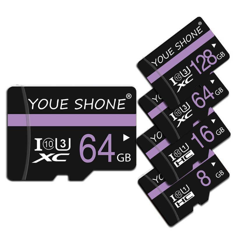 Nueva tarjeta De Memoria micro sd Clase 10, 128GB 64GB 32GB 16GB 8GB SDXC SDHC sd micro tarjeta Cartao De Memoria para SmartPhone/Tablet/PC