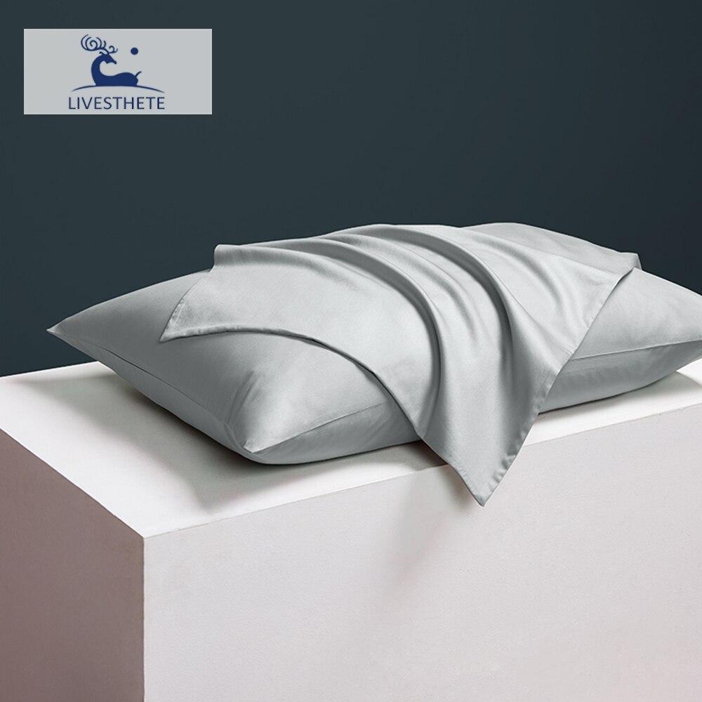 Liv Esthete Women Men 100 Noble Gray Silk Pillowcase 25 Momme Slik Luxury Healthy For Skin