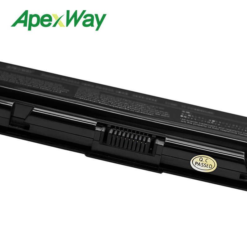 Apexway 6 Cell Pin PA3534U-1BAS PA3534U-1BRS PA3534U1BAS Dành Cho Laptop Toshiba Satellite Pro A200 A500 L200 L300 L500 L550 L555