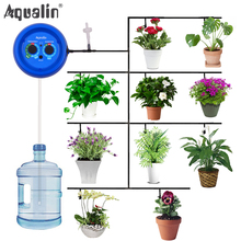 Automatic Drip Irrigation System Pump Controller Watering Kits with Built in High Quality Membrane Pump Used Indoor#22079