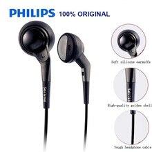 פיליפס אוזניות תמיכה GameAudio MP3 Loptap עם 3.5mm קו סגנון עבור דגם SHE2550 הרשמי מבחן