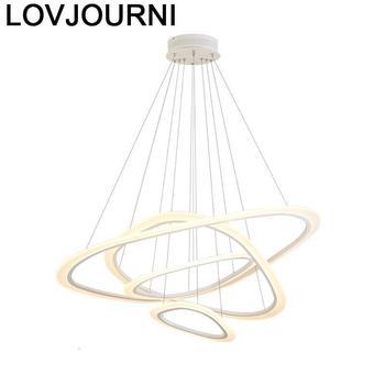Sala Jantar nowoczesna lampa wisząca lampa w stylu nordyckim De Techo Led lampa wisząca lampa wisząca Luminaria Hanglamp