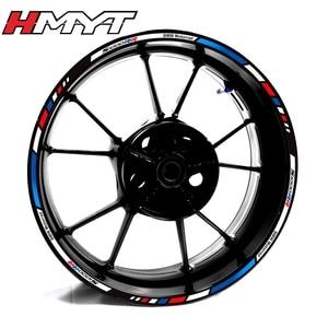 Применимо к BMWS1000RR s1000r мотоциклетная наклейка на ступицу колеса светоотражающий обод наклейка край 17 дюймов водонепроницаемая пленка