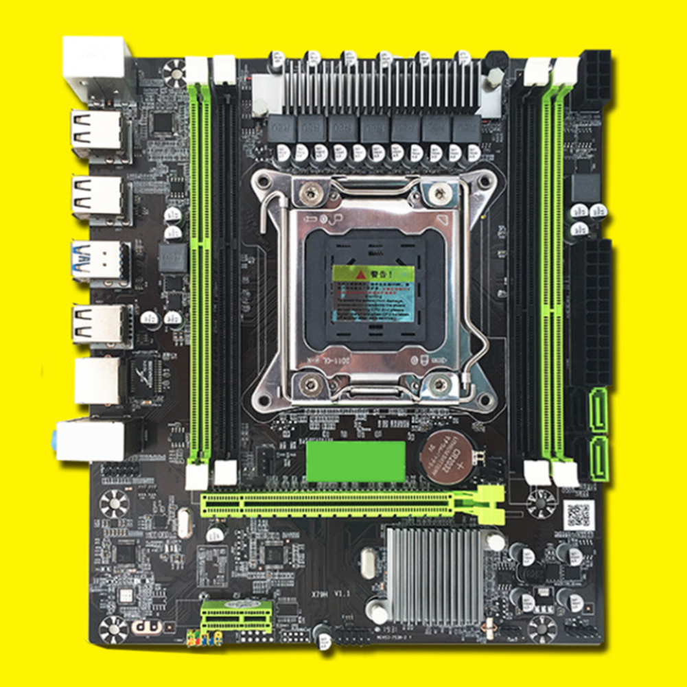 Desktop Computer PCI-e Motherboard Mainboard LGA 2011 REG Accessories Professional Gaming Dual Channel USB3.0 SATA3.0 ECC image