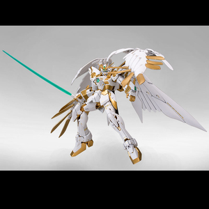 Image 2 - BANDAI MG 1/100 XXXG 00W0 Titanium Alloy Coloring Wing Gundam Zero Angel Model Assembly Toys Action Toy Figures
