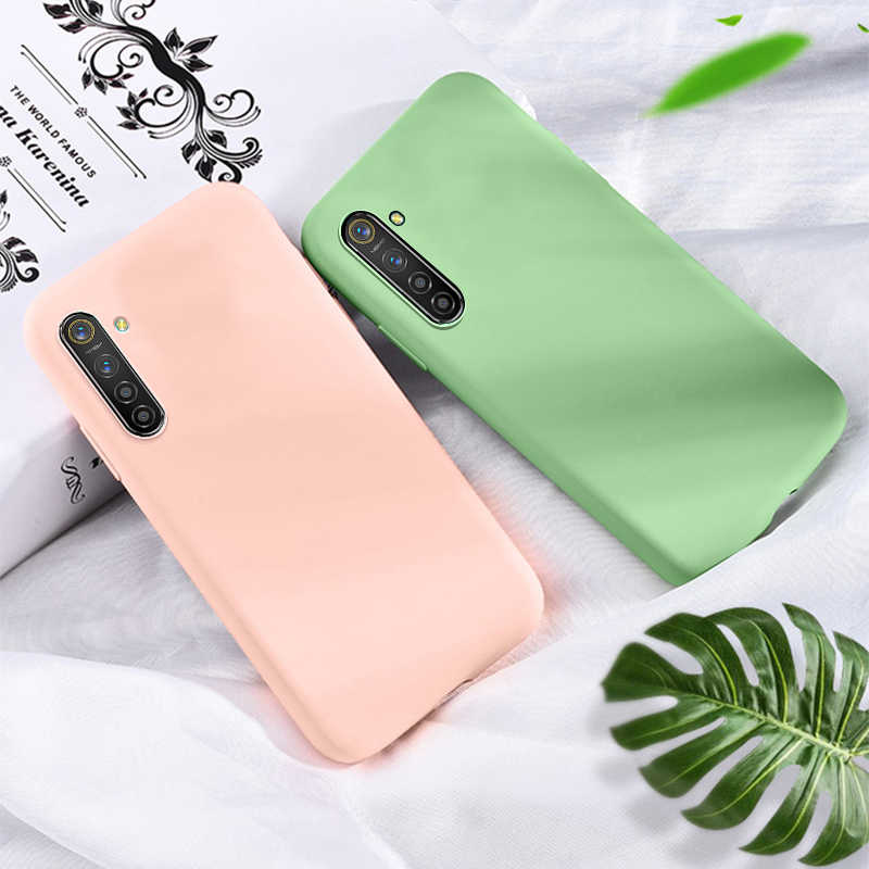 OPPO Realme 6 5i 6i X7 Pro C3 C11 C15 XT X2 Pro Find X2 Pro A52 A72 A92 Case Candy Color Phone Case For OPPO Reno 2Z 2F Case