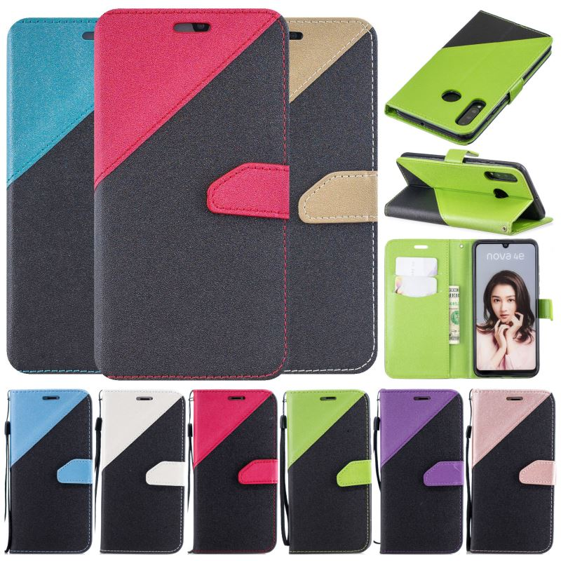 Enjoy 7S Leather <font><b>Flip</b></font> Fundas For <font><b>Case</b></font> Huawei P20 P10 Plus P9 P8 <font><b>Lite</b></font> 2017 <font><b>Mate</b></font> <font><b>10</b></font> Pro Phone Bag Honor 9 <font><b>Lite</b></font> 7X Y3 Y5 Y6 II P09F image