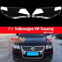 ไฟหน้ารถสำหรับ Volkswagen VW Touareg 2007 2008 2009 2010ฝาครอบไฟหน้าเปลี่ยน Auto Shell Bright