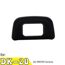 DK-20 Rubber Black Eyecup Viewfinder Eyepiece, for NIKON Camera DSLR D50 D60 D70 D70S D3000 D3100 D5100 D5200(China)
