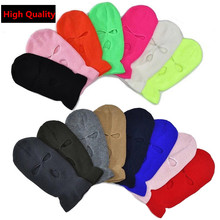 Hat Ski-Mask Face-Cover Balaclava Cs-Beanies Full-Face-Mask Knitted Warm Winter Sports