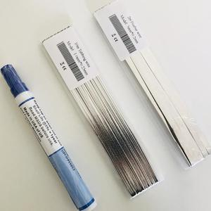 Image 3 - Solar cell tabbing wire Bus bar copper wire rosin flux pen soldering ribbion electrical wires for diy solar panel