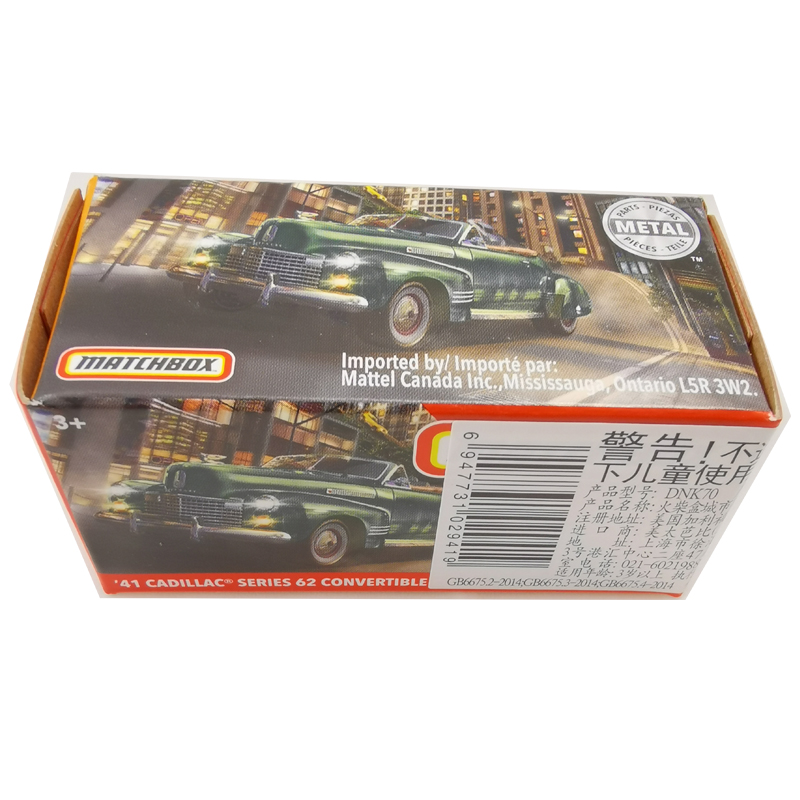 2020 Matchbox Cars 1:64 Car 41 CADILLAC SERIES 62 CONVERTIBLE Metal Diecast Alloy Model Car Toy Vehicles