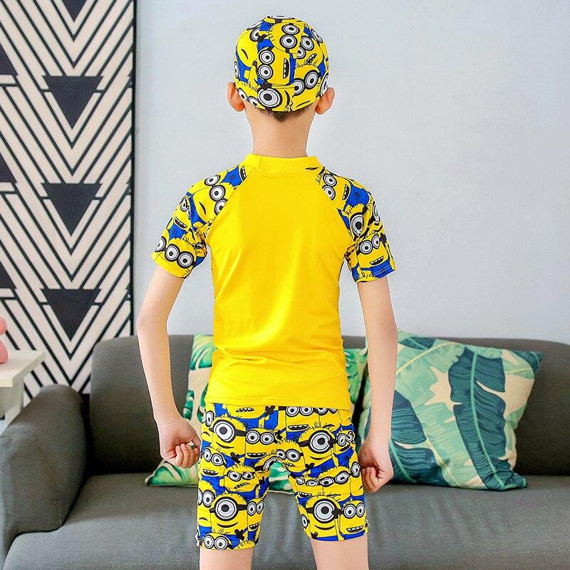 New Style BOY'S Set Split Type Small CHILDREN'S Swimwear