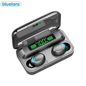 F9-5C TWS Bluetooth 5,0 перезаряжаемые беспроводные наушники с сенсорным управлением активное шумоподавление вызов высокой четкости с микрофоном