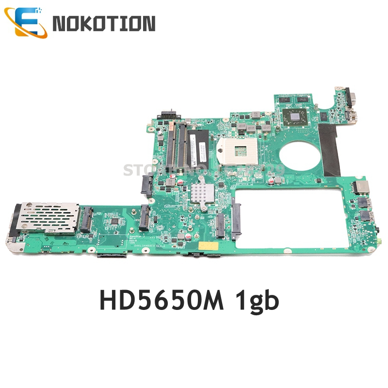 NOKOTION DAKL3AMB8G1 DAKL3AMB8D0 DAKL3AMB8E0 For Lenovo Y560 Laptop Motherboard HM55 DDR3 Support I3 I5 I7 CPU HD5650M 1GB
