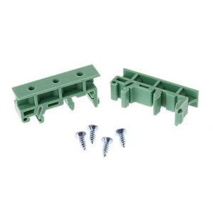PCB 35mm DIN Rail Mounting Adapter Circuit Board Bracket Holder Carrier Clips(China)