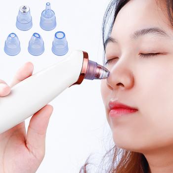 Twarz trądzik usuwająca zaskórniki odkurzacz pryszcz Cleaner nos porów czarna kropka Remover czyszczenie twarzy narzędzia do pielęgnacji skóry tanie i dobre opinie foreverlily do czyszczenia twarzy Anti-trądzik CN (pochodzenie) akumulator Z tworzywa sztucznego 14 50*21 50*6 00 LMH190821-01