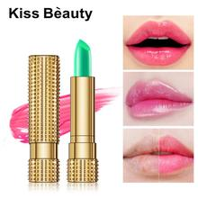 Moisturizing Natural Lip Balm with Temperature Change Lasting Winter Pink Lipstick Nourishing Lip Makeup Care TSLM1