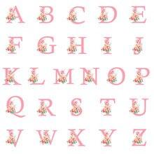 Name Custom Diamond Painting Cross Stitch 5D DIY Full Drill Letter Flower Embroidery Children Kids Name Mosaic Gift Home Decor