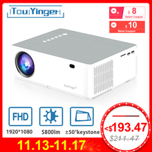 TouYinger M19 Projector Full HD 1080P 5800lumen Support AC3