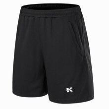 Профессиональные Брендовые мужские шорты для бадминтона, теннисные шорты, спортивные шорты для настольного тенниса, шорты для пинг-понга с карманом на молнии