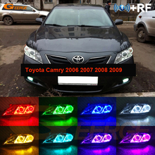 For Toyota Camry 2006 2007 2008 2009 Altise Excellent led Angel Eyes Multi-Color Ultra bright RGB LED Angel Eyes kit Halo Rings