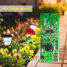 3,2 в 3,7 в радар индукционный Солнечный настенный контроллер лампы прочная печатная плата с переключателем лампа на солнечных батареях для дома эфирные принадлежности