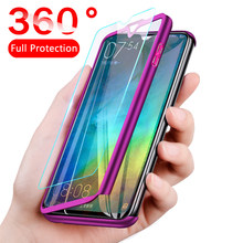 360 Full Protective Case For Xiaomi Redmi Note 8 7 6 5 4 K20 Pro 6A 5A 4A 7A Case For Xiaomi mi 9 8 6 A3 A2 A1 Lite CC9e S2 6X(China)