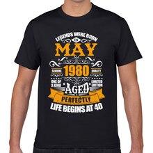 T-shirts homem may-80 design preto geek curto masculino tshirt xxxl