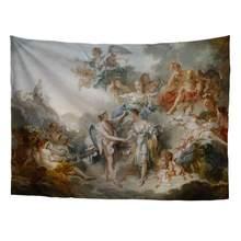 Tapisserie série, mythologie grecque, chef-d 'œuvre d'art classique, chef d'œuvre, françois Boucher Cupid et psyché, Art Charles Le Brun