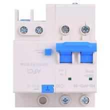 2P AFCI Arc Fault Circuit Breaker Interrupter Household DIN rail Small Electric Leakage Protector AFDD