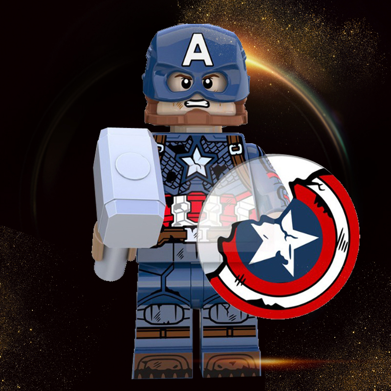 Legoed Marvel Avengers 4 Endgame Assembly Building Blocks Toys Captain America Winter Soldier Minifigured Kids Toy Gifts XP228
