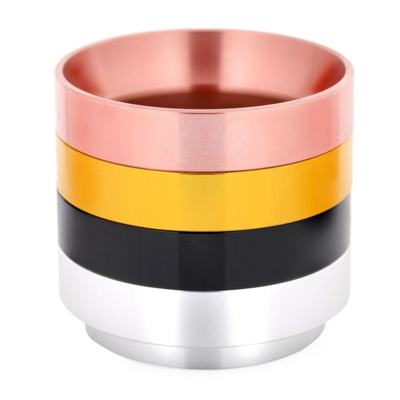 Aluminum Coffee Dosing Ring Household Coffee Powder Ring Italian Type For 58MM Profilter Coffee Tamper