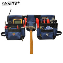 Multi-functional Electrician Tool Bag Waist Pouch Belt Storage Holder Organizer Electricians Tool Pouch Kit Bag Drop Shipping